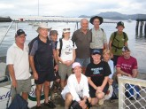 Justin, Mike, Shaun, Jordi, Lyle, John, Merv, me, Hayley, Marrion and Garth