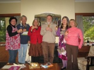 Toni, David, Meg, Peter, Liana, Helene