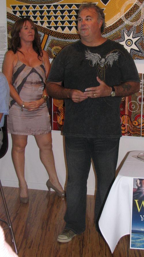 Jenny Gibbs (Hachette) Gary Glaskins (Glaskins Gallery)