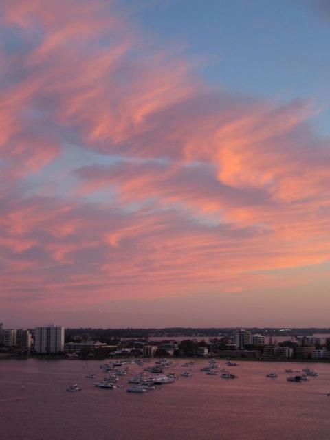 Sky in Perth