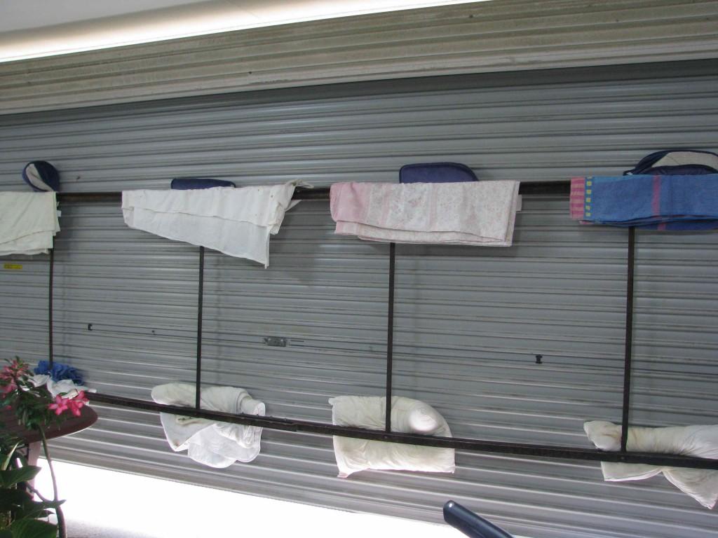 Braced garage door