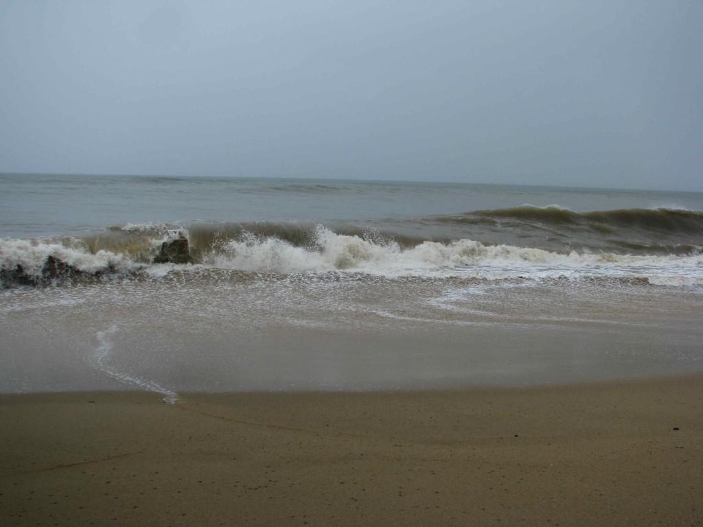 Waves at Trinity Beach