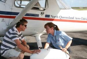 Sally Scott, North Qld Aero Club