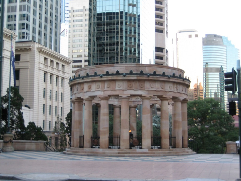 Brisbane Shrine of Remembrance in ANZAC Square