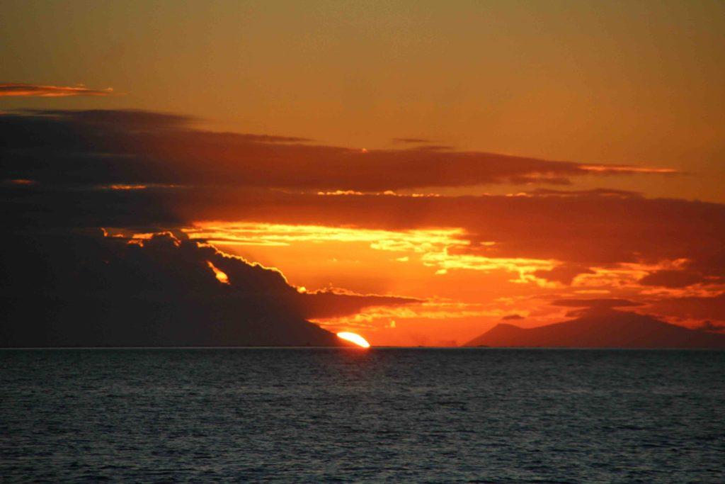 Sunset at Cape Upstart
